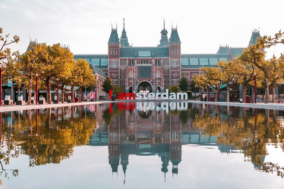 The 'iamsterdam' letters
