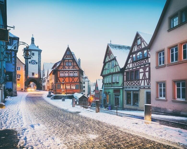 Old German town