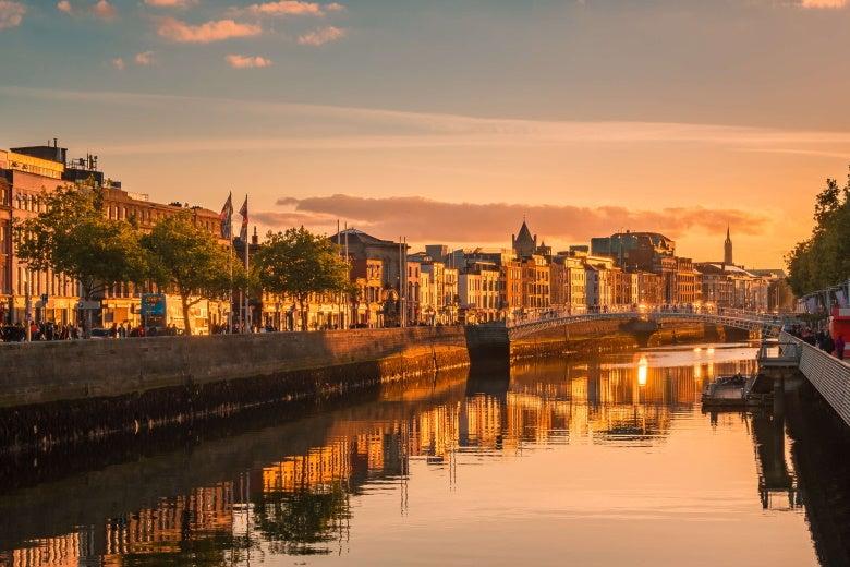 a photo of Dublin