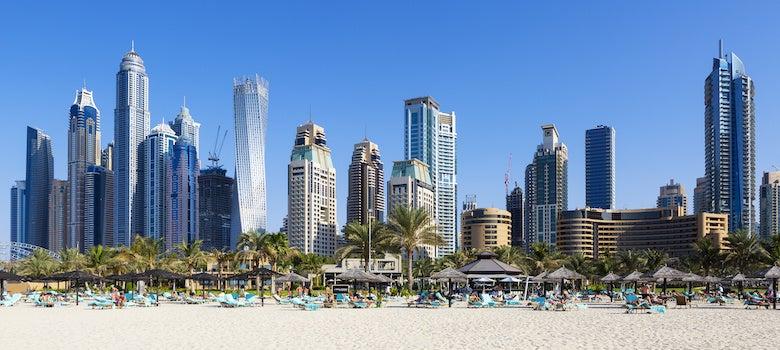 jumeirah beach view