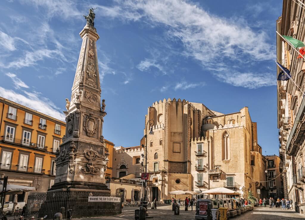 San Domenico Maggiore church in naples