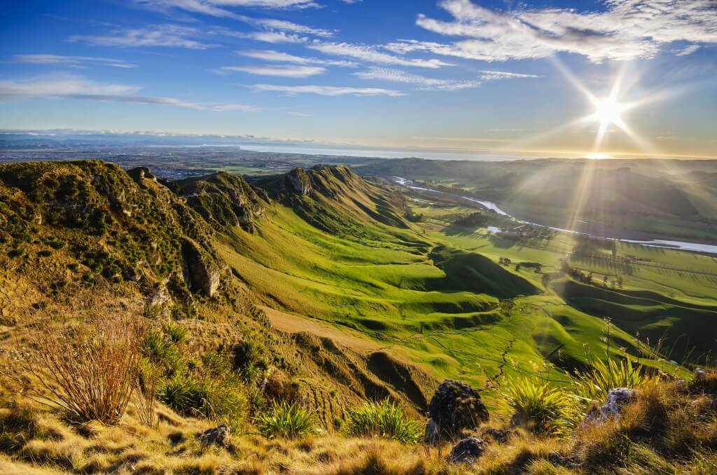 a photo of new zealand