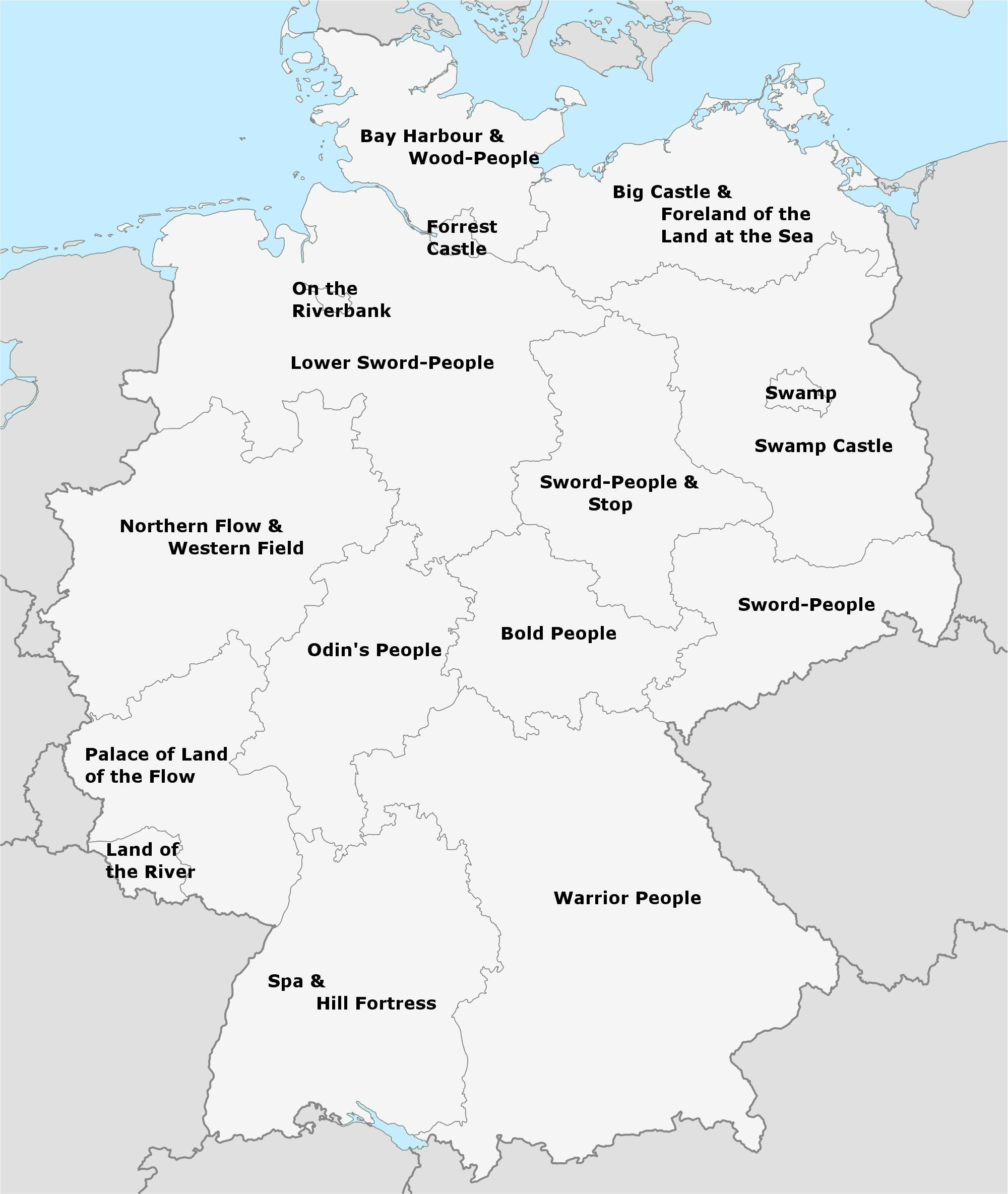 Literal Meaning of German Federal State Names | MoveHub