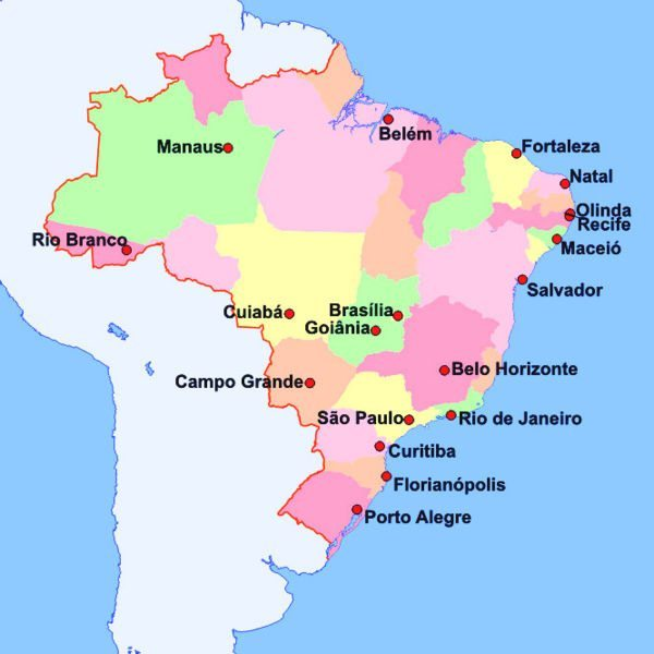 Brazilian states by the literal meaning of their name movehub world cup 2014 stadiums map gumiabroncs Images