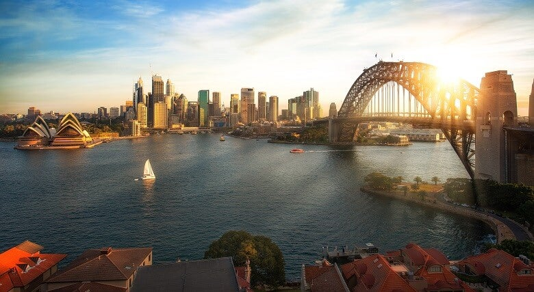 A view of Sydney