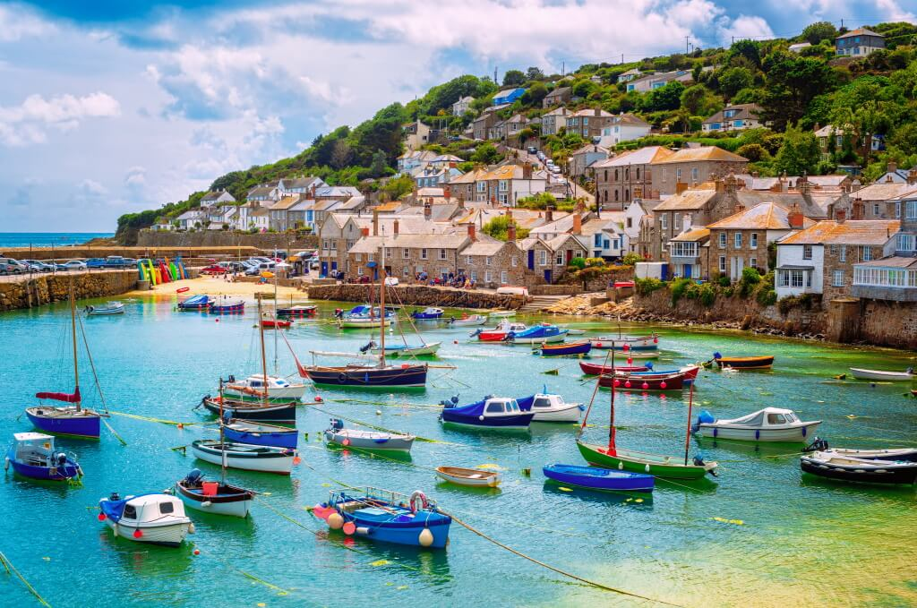 Mousehole village, Cornwall