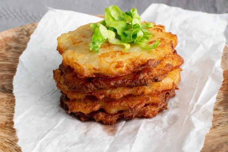 an Irish potato pancake dish called boxty