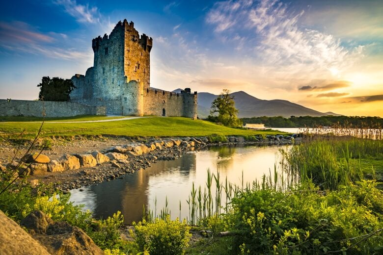 Fortress Ross Castle, Ireland