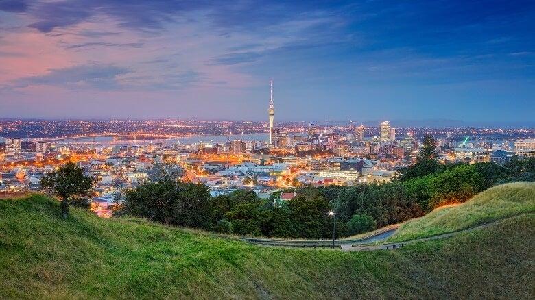 Auckland skyline