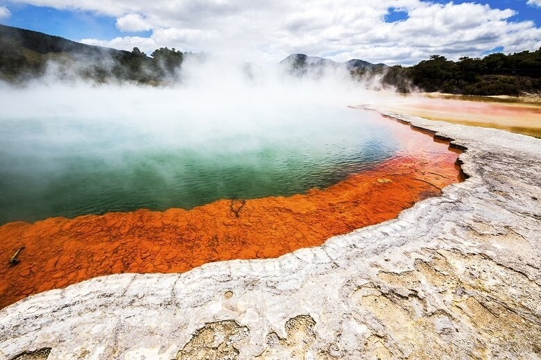 Wai-O-Tapu in New Zealand