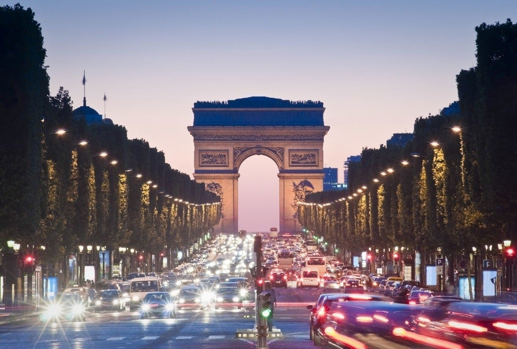 The Champs-Elysee