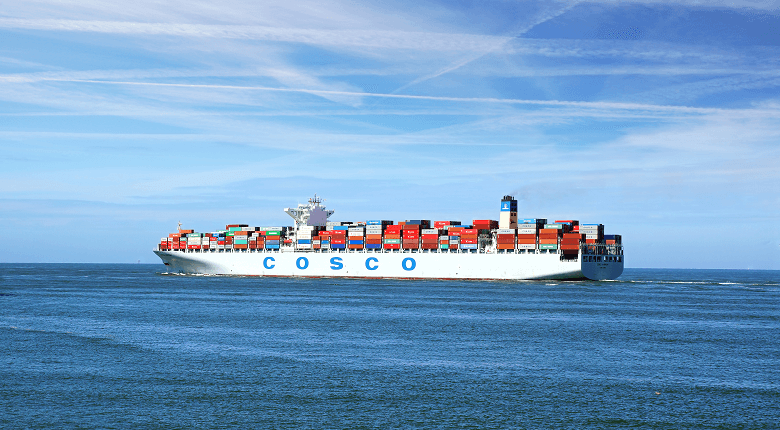 best shipping companies cosco