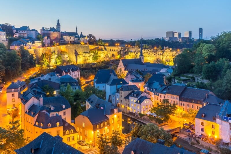 luxembourg city, one of the Best Places Around The World For Work Right Now