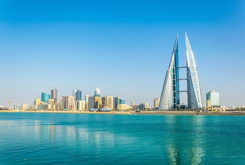 Manama, Bahrain, which is one of the Best Places Around The World For Work Right Now