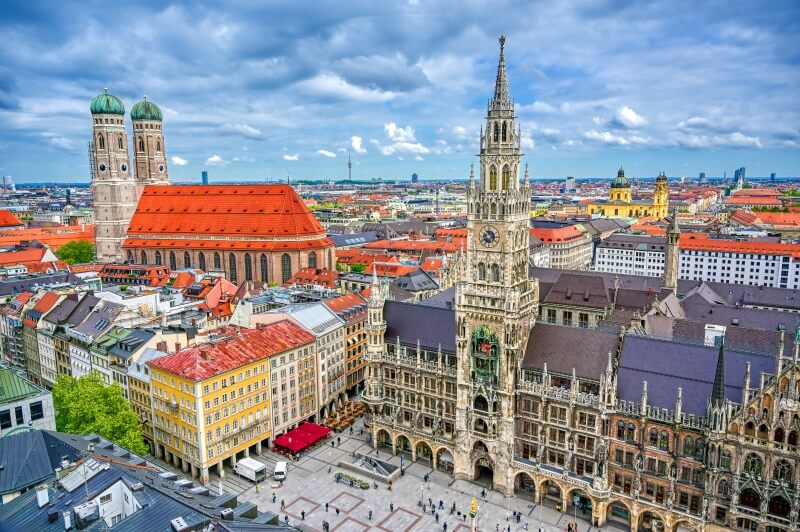 Munich, one of the best places around the world for work right now