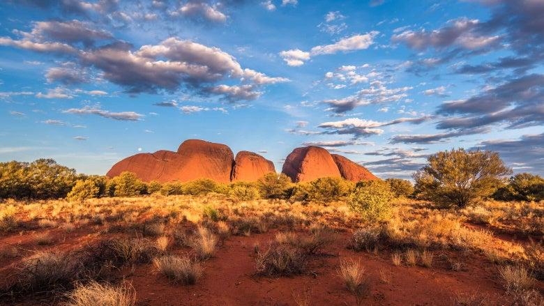 Uluru in Australia