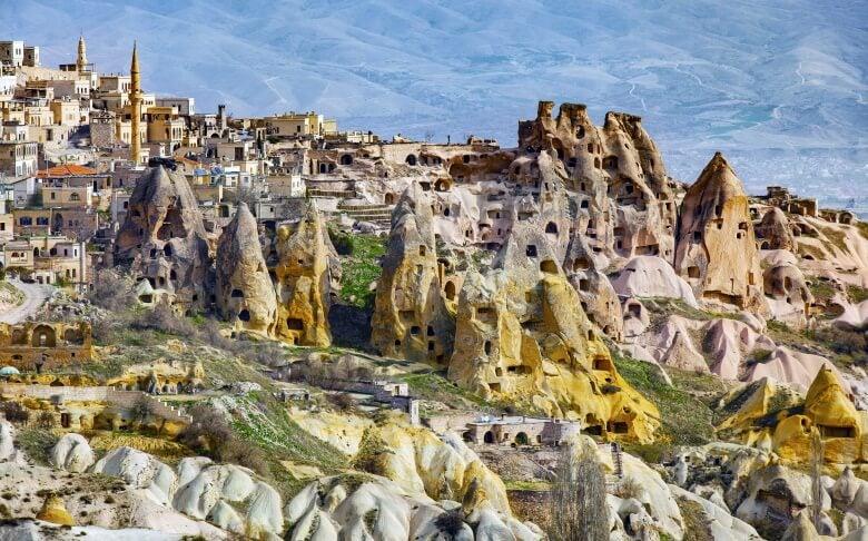 Mountains of Cappadocia, Turkey