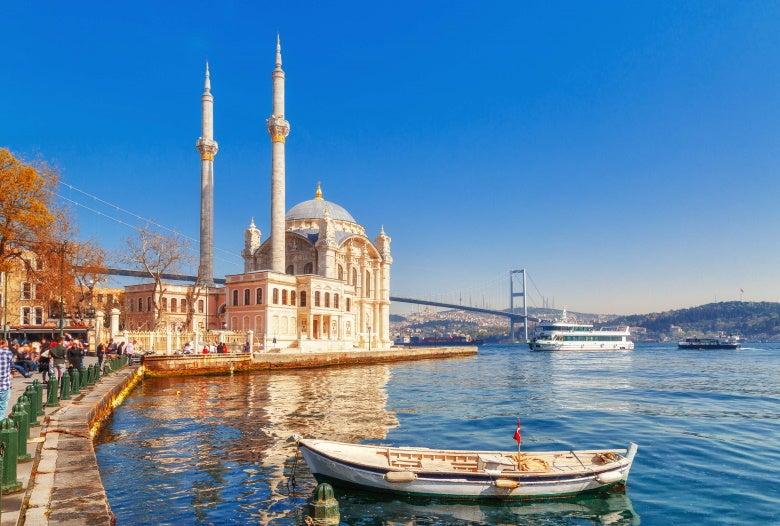 Ortakoy cami, Turkey