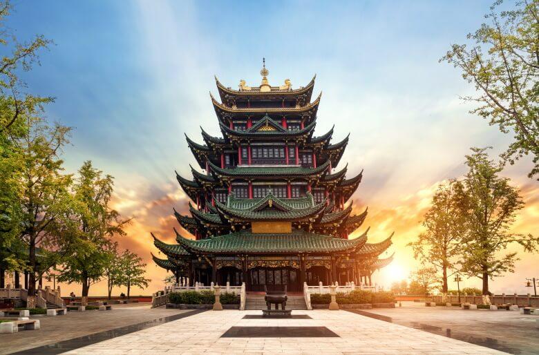 temple in Chongqing, China