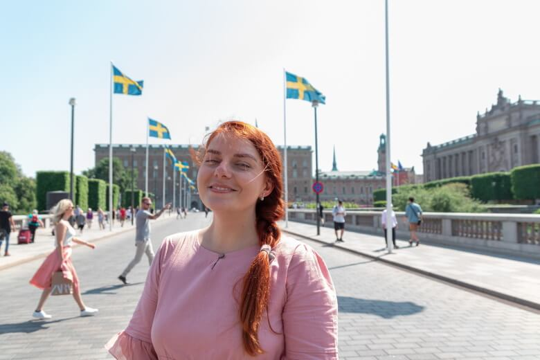 woman in sweden