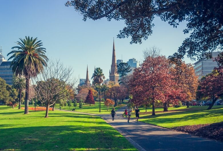 fitzroy park in melbourne