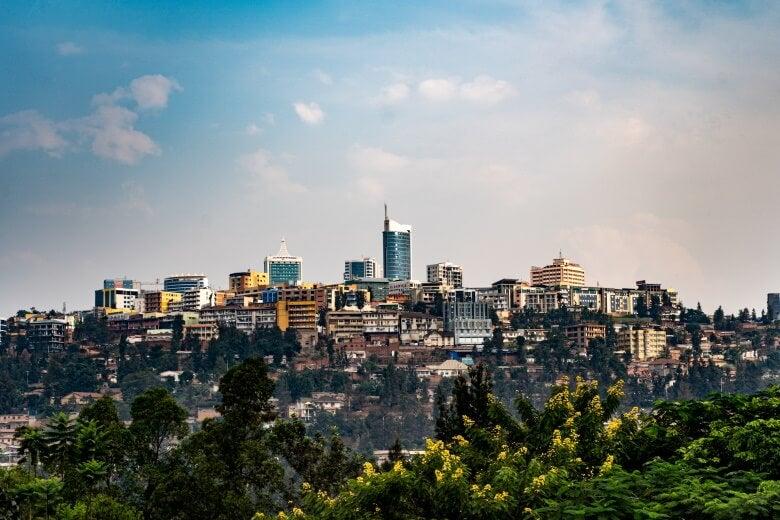 the kigali skyline
