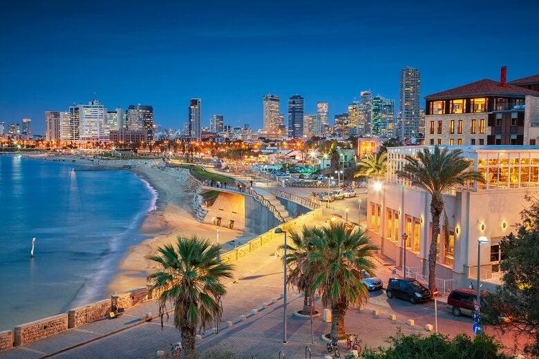 Tel Aviv in Israel