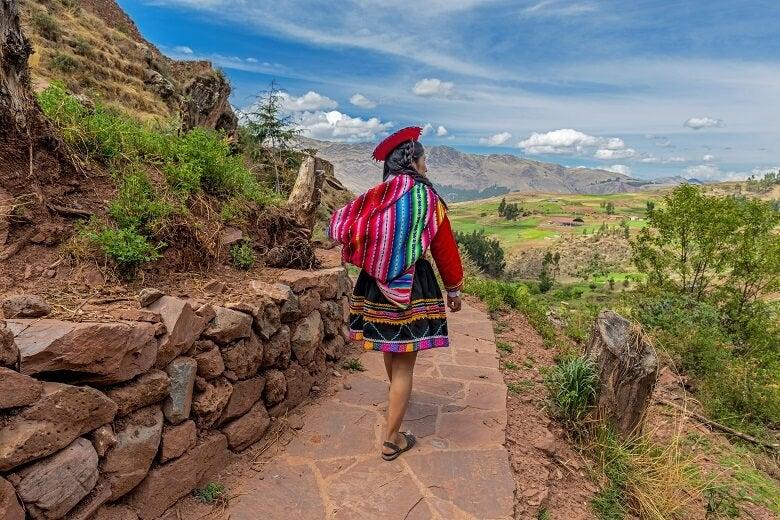 Peru indigenous woman